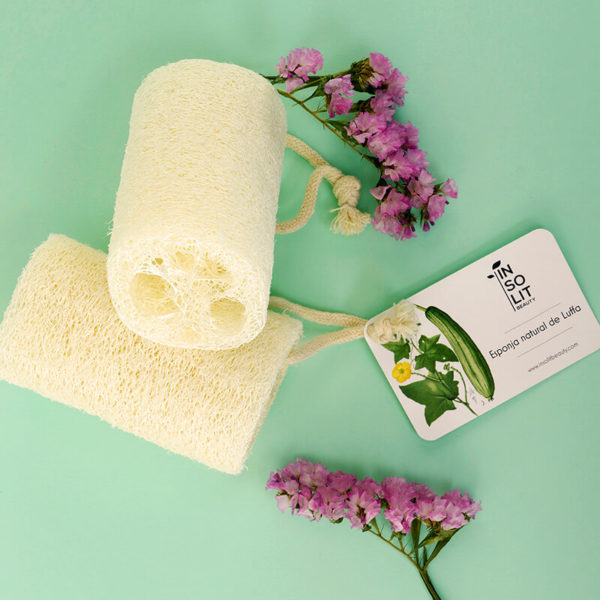 Esponja exfoliante natural luffa