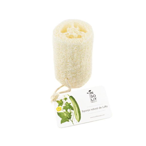 Esponja vegetal luffa exfoliante