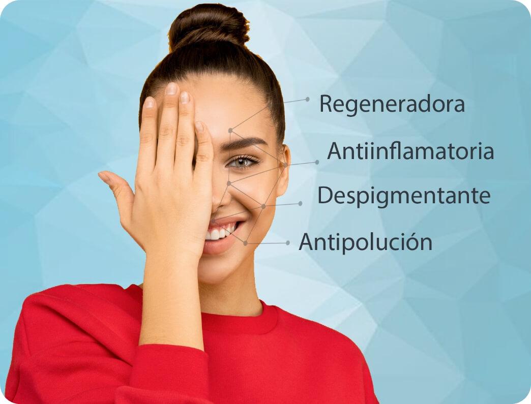 Descripcion y propiedades cosmeticas de la niacinamida