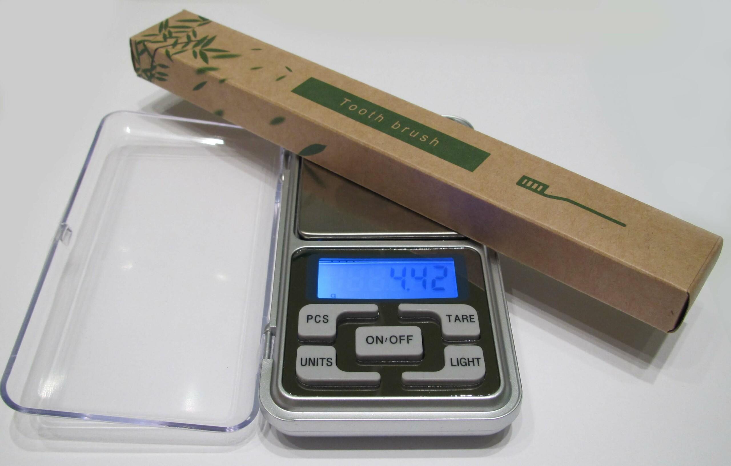 Envase biodegradable cepillo de dientes de bambu