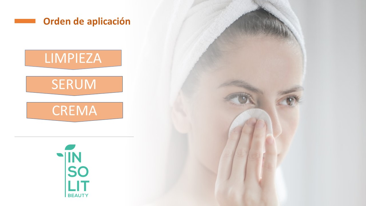 Pasos para aplicar correctamente un serum facial