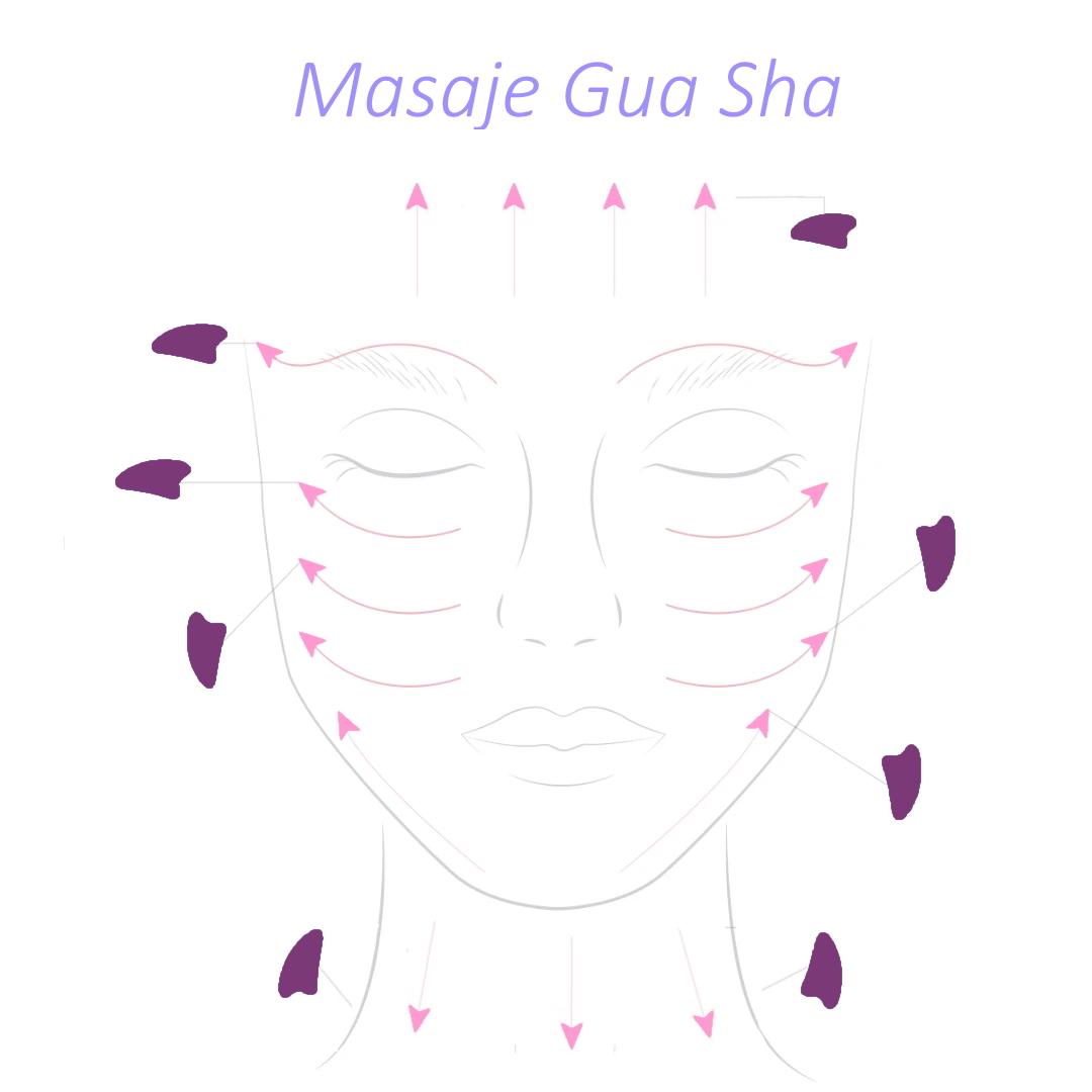Como realizar masaje gua sha con amatista