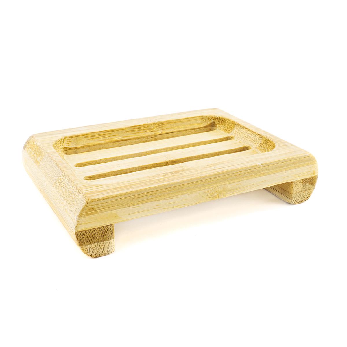 Jabonera de bambu biodegradable
