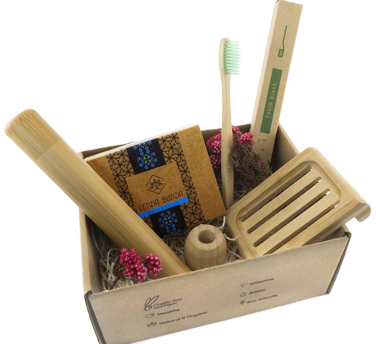 Pack Bambú Cero Residuo con Jabón de Alepo