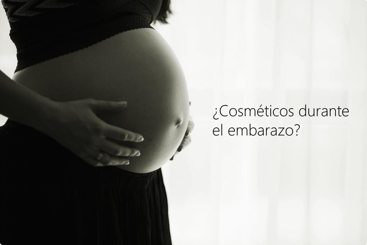 Cosméticos durante el embarazo y lactancia